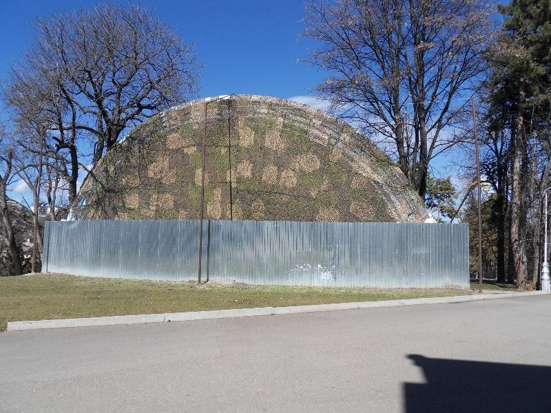 Центр Кисловодска - музыкальная раковина