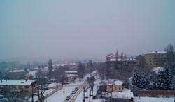 Вид из окна дома на улицу Кирова