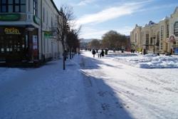 Курортный бульвар Кисловодска, на который жители попадают после приятной десятиминутной прогулки от своей квартиры.
